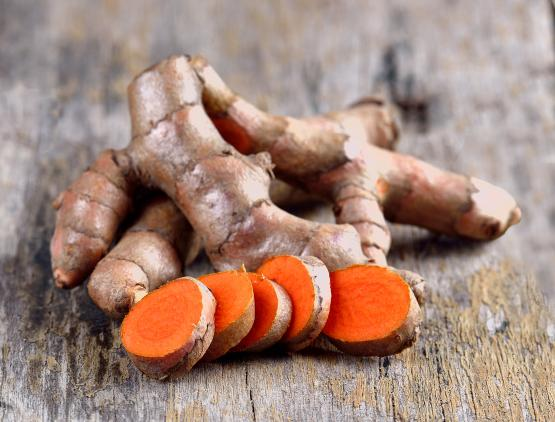 Turmeric for Products page
