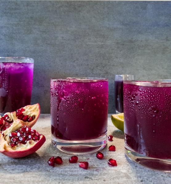 Sugar free probiotic mocktails Winter